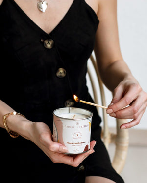 Candle + Friends - Moroccan Leather