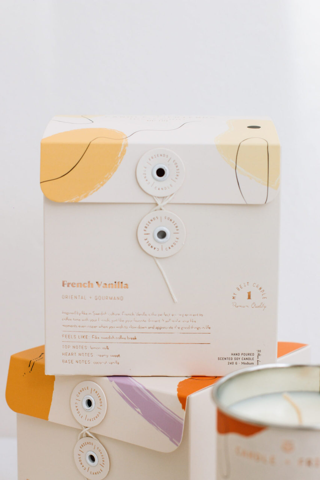 French Vanilla Cam Mum - Medium