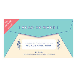 Read Me When Box: Letters to My Wonderful Mom
