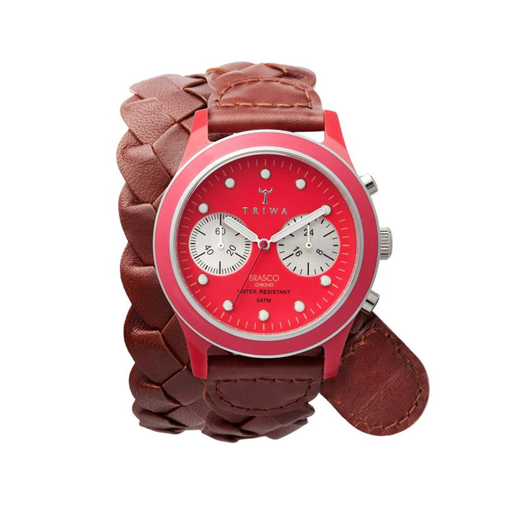 Triwa - Brasco Chrono Red