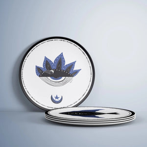 The Blue Eye Plate / Porselen Tabak