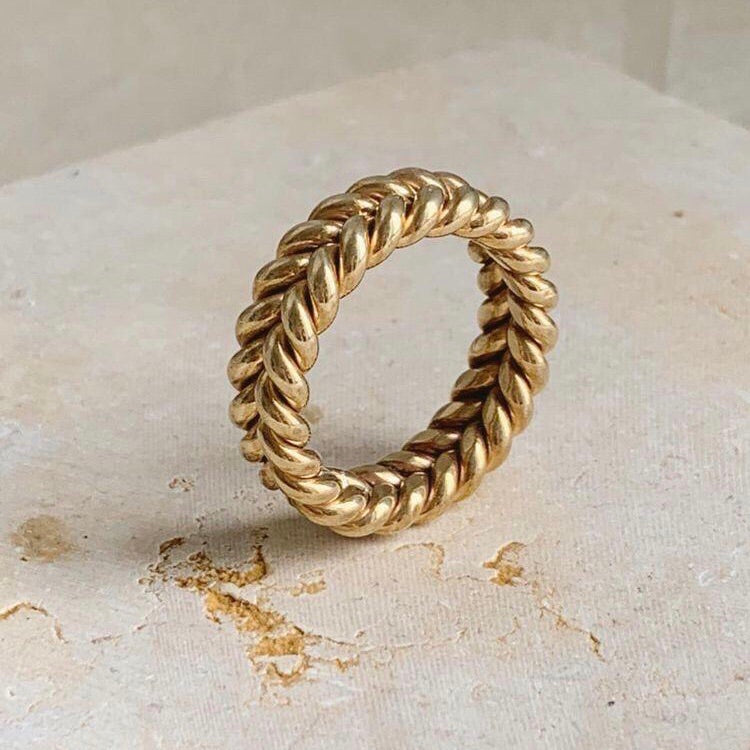 Gold Handmade Ring