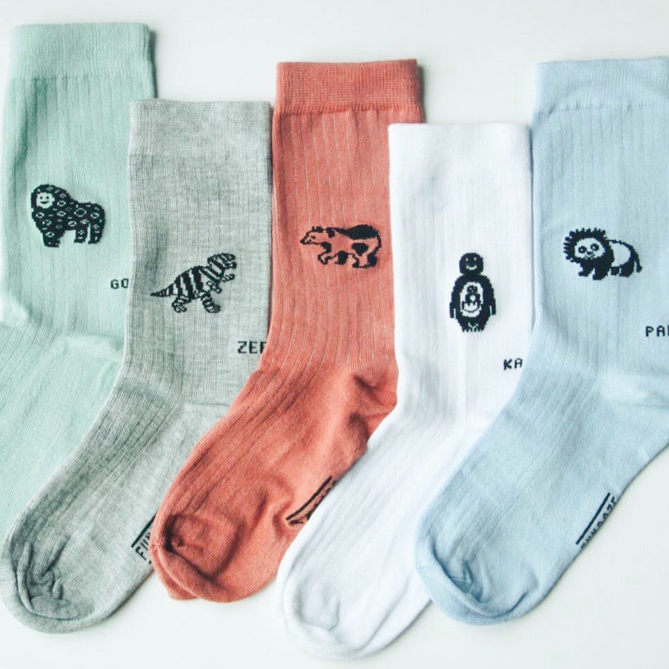 Animals / Bamboo Socks