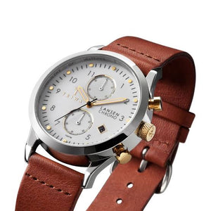 Triwa Lansen Ivory Chrono Brown