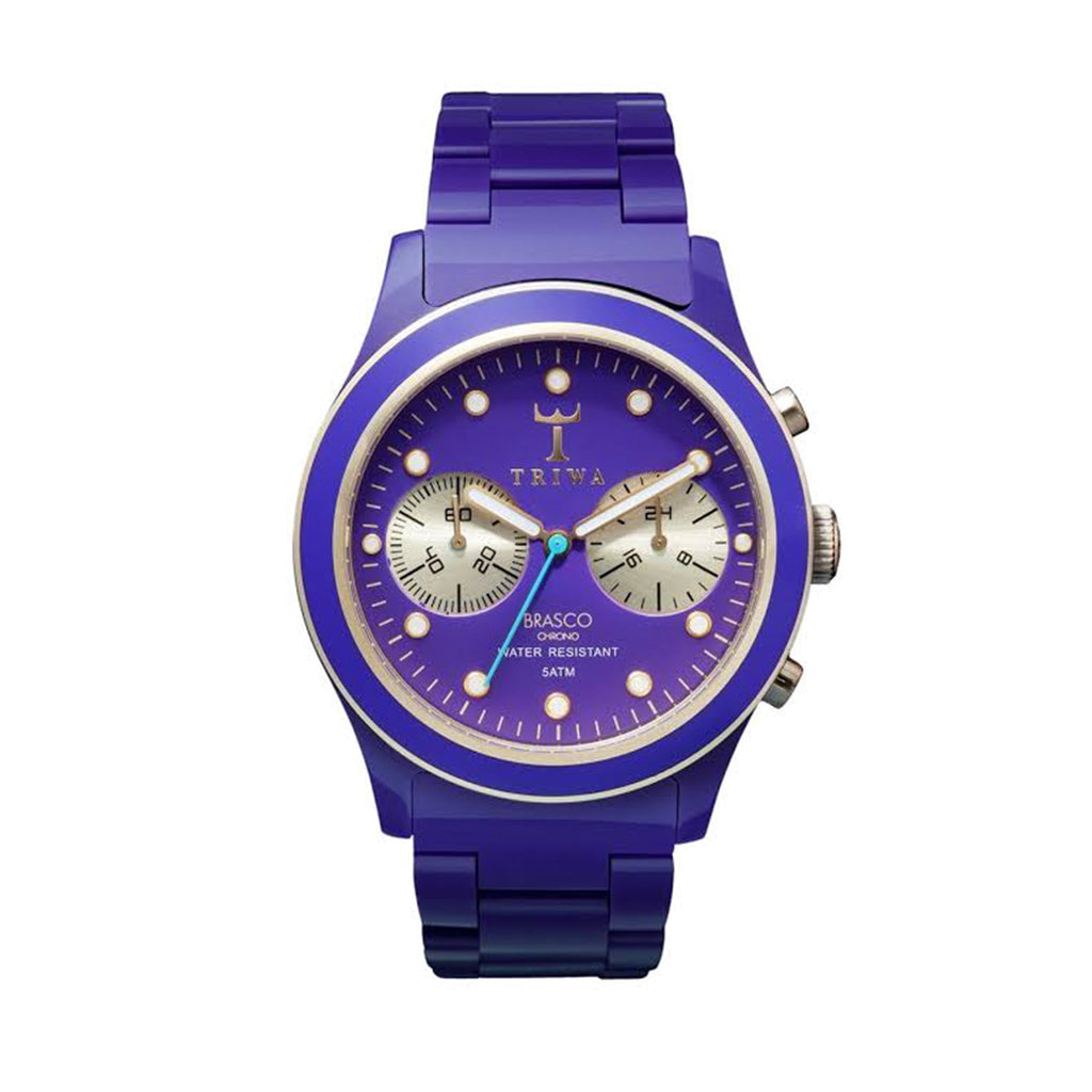 Triwa Brasco Chrono Purple