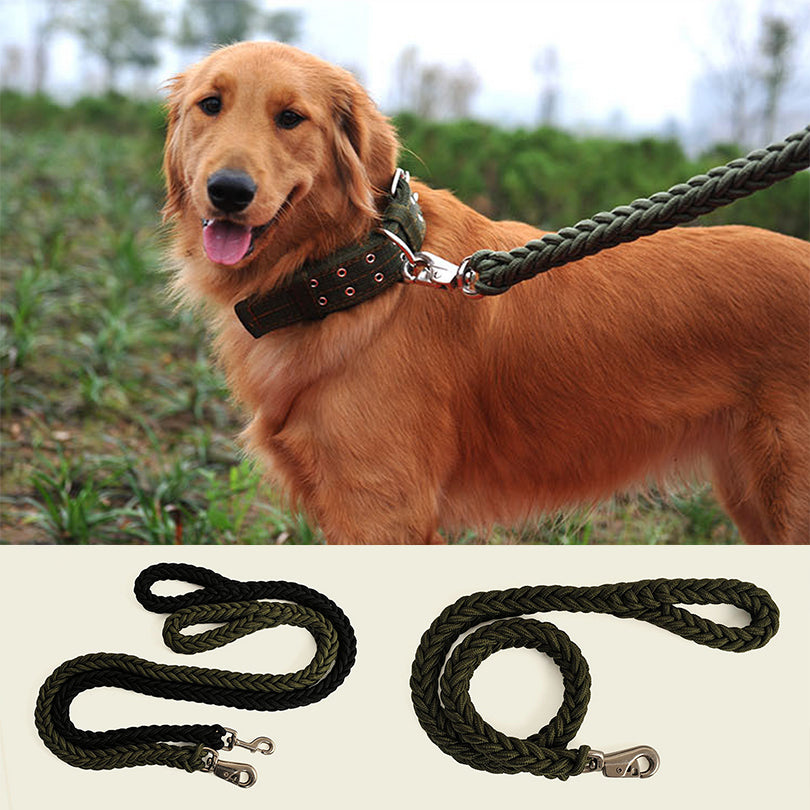 Premium Solid Nylon Indestructible Leash For Highly Active Dogs - Lifetime Guarantee!