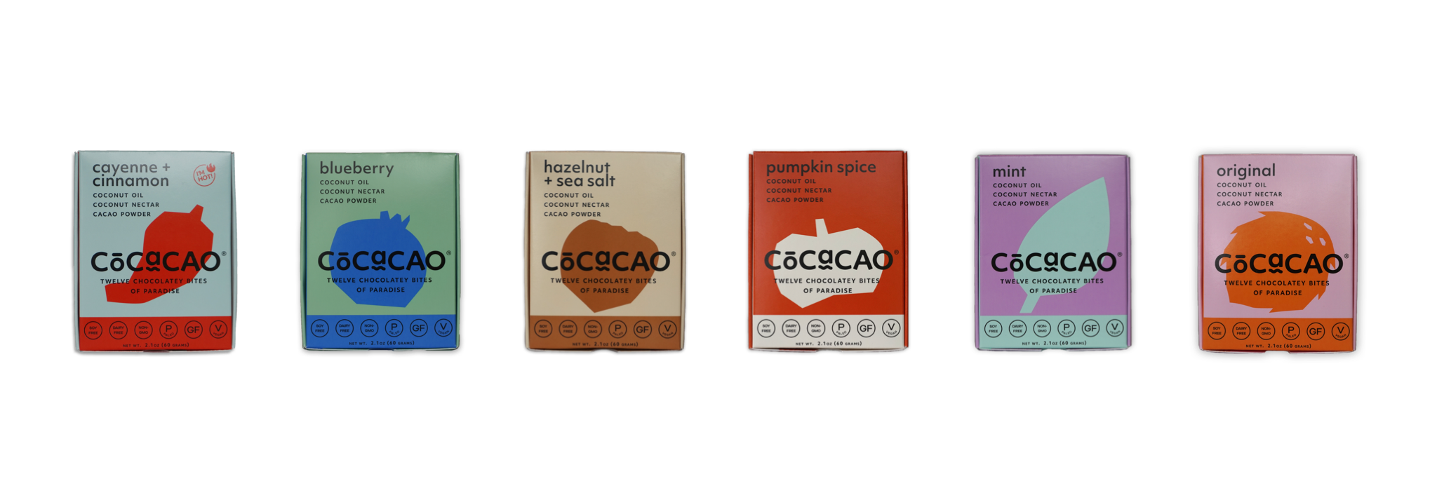 cocacao cacao and coconut treat that tastes like chocolate