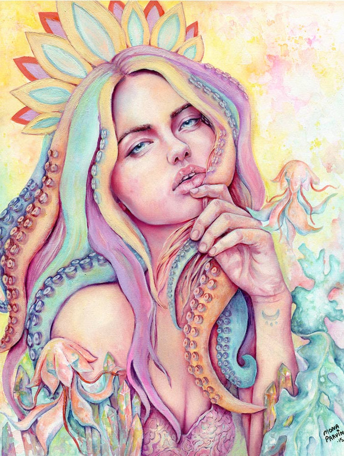 Sea Goddess – Giclée Print