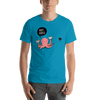 Selfie Octopus - Short-Sleeve Unisex T-Shirt
