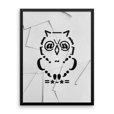 Ascii Owl - Posters