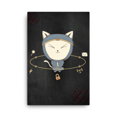 App Ninja Cat - Canvas