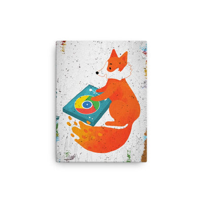 Chrome DJ Firefox - Canvas