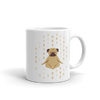 Pets In Tech 11oz 1s 0s Meditating Pug - Mug