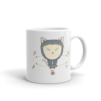 Pets In Tech 11oz App Ninja Cat - Mug