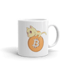 Pets In Tech 11oz Bitcoin Cat - Mug