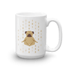 Pets In Tech 15oz 1s 0s Meditating Pug - Mug