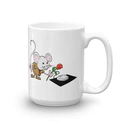 Pets In Tech 15oz Virtual Girlfriend Mouse - Mug