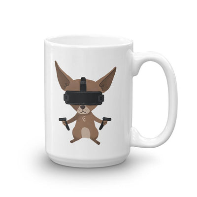 Pets In Tech 15oz Virtual Reality Chihuahua - Mug