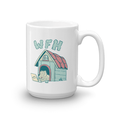 Pets In Tech 15oz Work From Home Dog - Mug