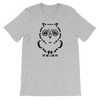 Pets In Tech Athletic Heather / S Ascii Owl - Short-Sleeve Unisex T-Shirt