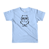 Pets In Tech Baby Blue / 2yrs Ascii Owl - Short sleeve kids t-shirt