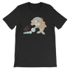 Pets In Tech Black Heather / S Bubble Sort Dolphin - Short-Sleeve Unisex T-Shirt