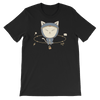 Pets In Tech Black / S App Ninja Cat - Short-Sleeve Unisex T-Shirt