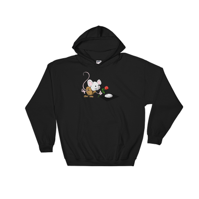 Pets In Tech Black / S Virtual Girlfriend Mouse - Hoodie