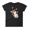 Pets In Tech Black / S Web Developer Rabbit - Women's short sleeve t-shirt