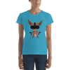 Pets In Tech Caribbean Blue / S Virtual Reality Chihuahua - Women's short sleeve t-shirt