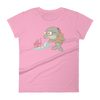 Pets In Tech CharityPink / S Bubble Sort Dolphin - Women's short sleeve t-shirt