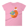 Pets In Tech CharityPink / S Chrome DJ Firefox - Women's short sleeve t-shirt
