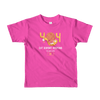 Pets In Tech Fuchsia / 2yrs 404 Cat Doesn't Respond - Short sleeve kids t-shirt