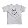 Pets In Tech Heather Grey / 2yrs Ascii Owl - Short sleeve kids t-shirt