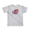 Pets In Tech Heather Grey / 2yrs Null Pointer Exception Squirrel - Short sleeve kids t-shirt