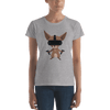 Pets In Tech Heather Grey / S Virtual Reality Chihuahua - Women's short sleeve t-shirt