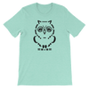 Pets In Tech Heather Mint / S Ascii Owl - Short-Sleeve Unisex T-Shirt