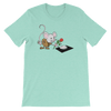 Pets In Tech Heather Mint / S Virtual Girlfriend Mouse - Short-Sleeve Unisex T-Shirt