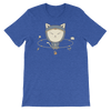 Pets In Tech Heather True Royal / S App Ninja Cat - Short-Sleeve Unisex T-Shirt