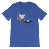 Pets In Tech Heather True Royal / S Virtual Girlfriend Mouse - Short-Sleeve Unisex T-Shirt