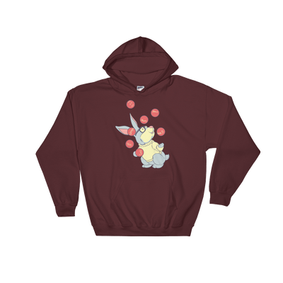 Pets In Tech Maroon / S Web Developer Rabbit - Hoodie