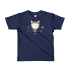 Pets In Tech Navy / 2yrs App Ninja Cat - Short sleeve kids t-shirt