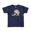 Pets In Tech Navy / 2yrs Bubble Sort Dolphin - Short sleeve kids t-shirt