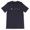 Pets In Tech Navy / S Awww on sight Cat - Short-Sleeve Unisex T-Shirt