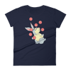 Pets In Tech Navy / S Web Developer Rabbit - Women's short sleeve t-shirt