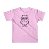 Pets In Tech Pink / 2yrs Ascii Owl - Short sleeve kids t-shirt
