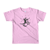 Pets In Tech Pink / 2yrs iPhone Skater Cat - Short sleeve kids t-shirt