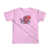 Pets In Tech Pink / 2yrs Null Pointer Exception Squirrel - Short sleeve kids t-shirt