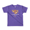 Pets In Tech Purple / 2yrs 404 Cat Doesn't Respond - Short sleeve kids t-shirt