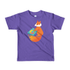 Pets In Tech Purple / 2yrs Chrome DJ Firefox - Short sleeve kids t-shirt